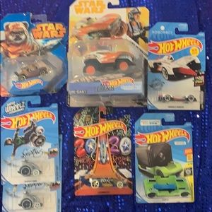 Lot of hot wheels